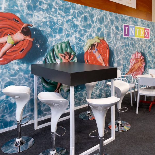 Mural Stand Cafeteria