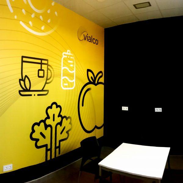 Mural Sala Comedor